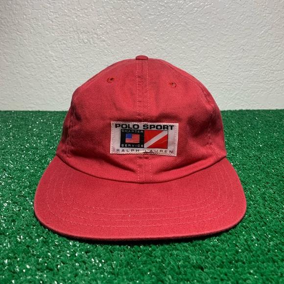 9200767a Vintage Polo Sport RARE Dive Service Men's Hat. M_5c79f3ffc89e1dba72a48dc3